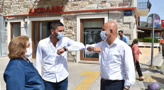 Mahir Polat, Foça'yı Ziyaret Etti