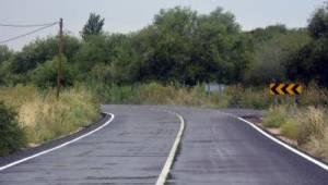 Bergama'ya 463 kilometrelik üretim yolu yapıldı