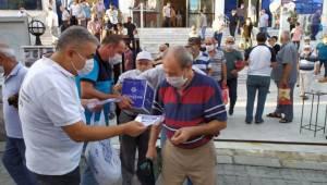Aydın Büyükşehir vatandaşlarla bayramlaştı
