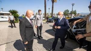 Vali'den Başkan Soyer'e iade-i ziyaret