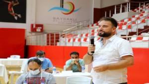 Bayraklı'da amatör spor kulüplerine 206 bin liralık destek