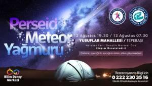 Perseid Meteor Yağmuru Gözlemi Etkinliği