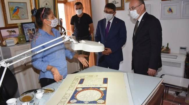 Vali Karadeniz Kurşunlu Han Ve Şehzadelerpar'ı İnceledi