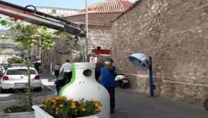 Bergama'da bir ayda 13 ton cam atık toplandı