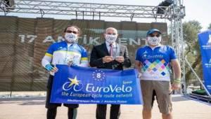Euro Velo 8. Akdeniz Rotası İzmir Güzergahı Açıldı