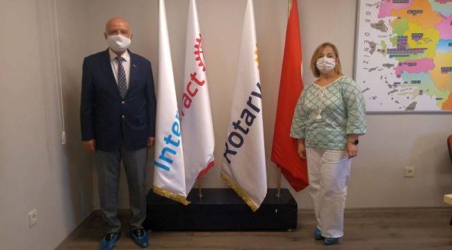 Rotary'den 10 Bin Fidanlık Barış Ormanı
