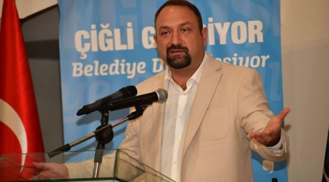"""Başkan Gümrükçü: """"Belediyede devrim yaptık"""""""