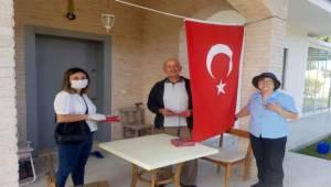 """""""Kentimizi şanlı Türk Bayrağı ile donatıyoruz"""""""