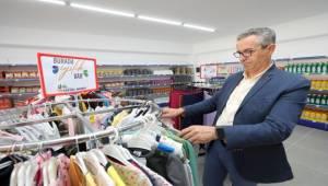 Gaziemir'in iyilik kapısı Sosyal Market