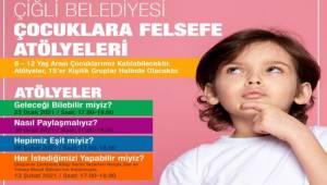 Çiğlili Çocuklar Felsefe Atölyesinde Buluşuyor