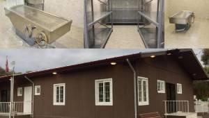 Menderes'e Cenaze Hizmetleri Binası Kazandırıldı
