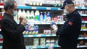 Bergama'daki marketlere belediyeden fiyat ve etiket denetimi