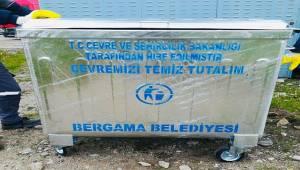 Bergama'ya 300 çöp konteynırı geliyor