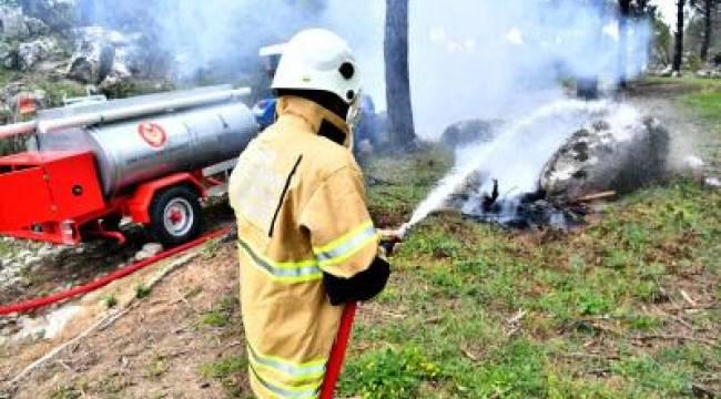 İzmir Büyükşehir Belediyesi orman köylerine 60 su tankeri dağıttı