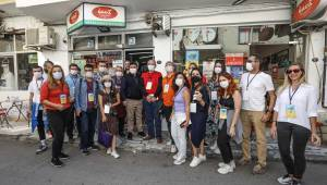 Sosyal medya fenomenleri Buca'da tarih turunda