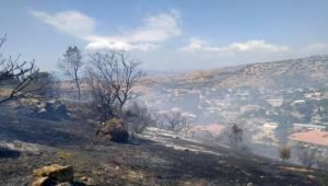 Büyükşehir İtfaiyesi Yangına Müdahale Etti
