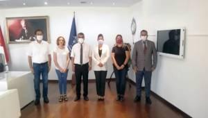 Aydın Otizm Derneği Belediye Başkanını Ziyaret Etti