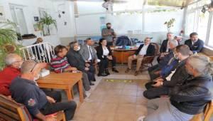 Başkan Sürekli'den Çeşme Ziyareti