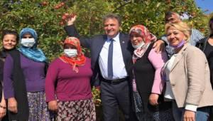 Bornova'da Kadın Çiftçiler Unutulmadı
