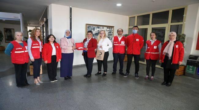 Kızılay Aydın Şubesi Başkan Çerçioğlu'nu Ziyaret Etti